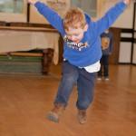Jump Kids - Rhys jumping!